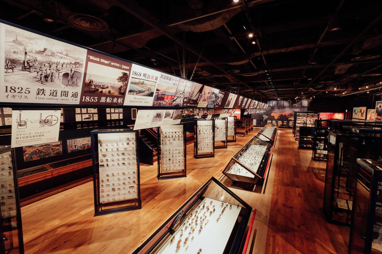 クルマ文化資料室 展示室風景