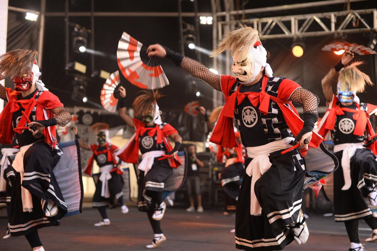 TOHOKU & TOKYO in RIO:柳鬼剣舞保存会(岩手)演舞 写真提供:東京都、アーツカウンシル東京